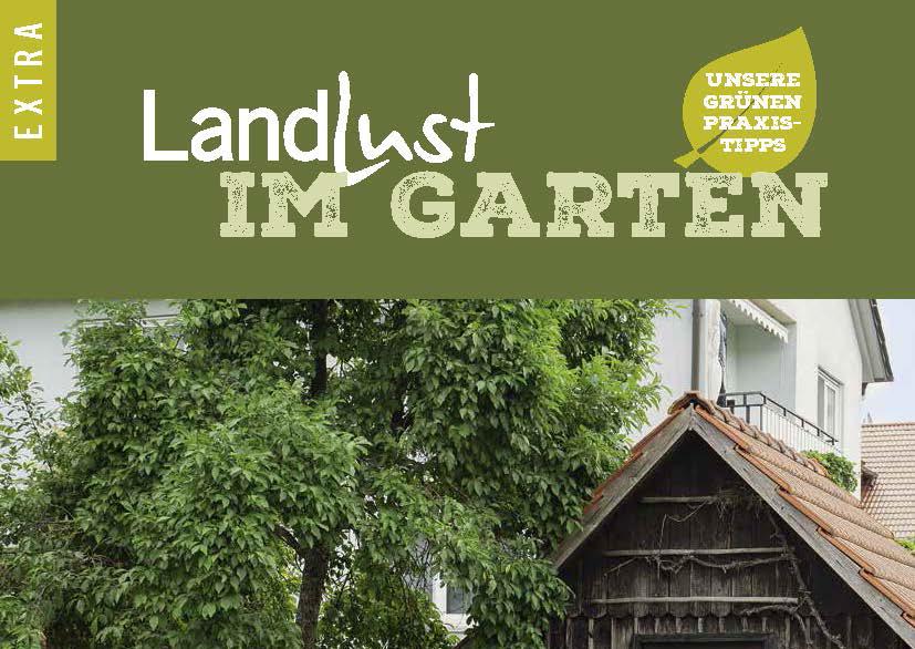 Titel Landlust Extra Im Garten